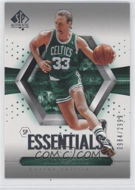 2004-05 SP Authentic - [Base] #92 - Essentials - Larry Bird /2999
