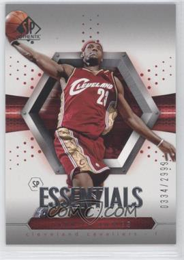 2004-05 SP Authentic - [Base] #95 - Essentials - Lebron James /2999