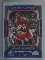 Lebron James #878/999