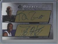 Kevin Garnett, Dwight Howard #/25