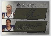 Mike Bibby, Kevin Martin /100