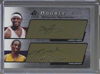 LeBron James, Kobe Bryant #2/25