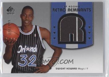 2004-05 SP Signature Edition - [Base] #101 - Dwight Howard /499