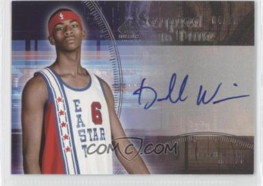 2004-05 SP Signature Edition - Scripted in Time - [Autographed] #ST-DW - Dorell Wright /10