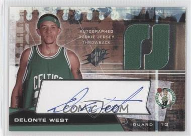 2004-05 SPx - [Base] - Throwback Variation #128 - Delonte West