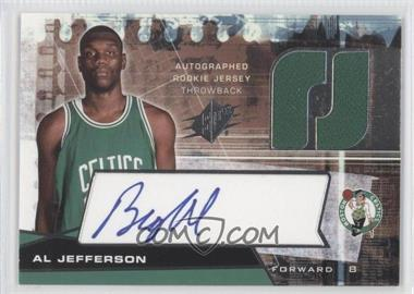 2004-05 SPx - [Base] - Throwback Variation #134 - Al Jefferson