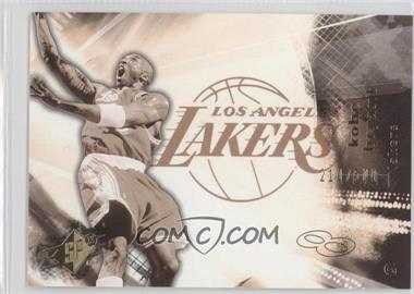 2004-05 SPx - [Base] - Throwback Variation #37 - Kobe Bryant /500