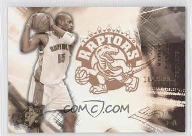 2004-05 SPx - [Base] - Throwback Variation #83 - Vince Carter /500