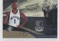 Rookies - Antonio Burks /1999