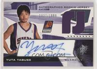 Autographed Rookie Jersey - Yuta Tabuse #/1,999