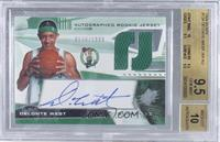 Autographed Rookie Jersey - Delonte West /1999 [BGS 9.5]