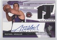 Autographed Rookie Jersey - Rafael Araujo #/1,999