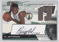 Autographed Rookie Jersey - Al Jefferson /1999
