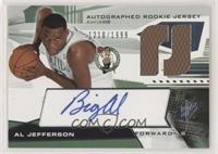 Autographed Rookie Jersey - Al Jefferson #/1,999
