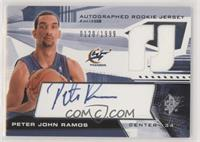 Autographed Rookie Jersey - Peter John Ramos #/1,999