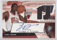 Autographed Rookie Jersey - Luol Deng /750