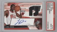 Autographed Rookie Jersey - Luol Deng /750 [PSA9]