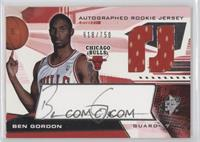 Autographed Rookie Jersey - Ben Gordon /750