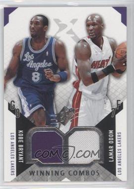 2004-05 SPx - Winning Combos #WC-BO - Kobe Bryant, Lamar Odom