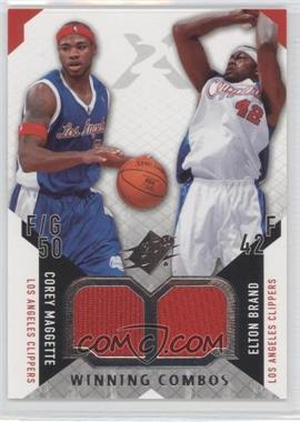2004-05 SPx - Winning Combos #WC-MB - Corey Maggette, Elton Brand