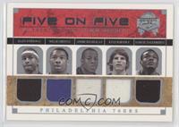 Allen Iverson, Willie Green, Andre Iguodala, Kyle Korver, Samuel Dalembert, Gil…