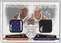 Stephon Marbury, Jason Kidd #/49
