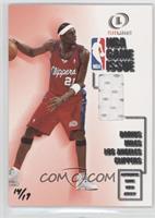Darius Miles (00-01 Fleer Legacy NBA Game Issue) /17
