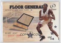 Eddie Jones (2000-01 Fleer Legacy Floor Generals) #/23