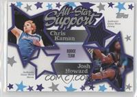 Chris Kaman, Josh Howard /250