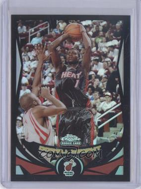 2004-05 Topps Chrome - [Base] - Black Refractor #184 - Dorell Wright /500