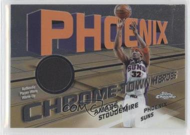 2004-05 Topps Chrome - Chrome-Town Heroes Jerseys - [Memorabilia] #CTH-AS - Amar'e Stoudemire /885