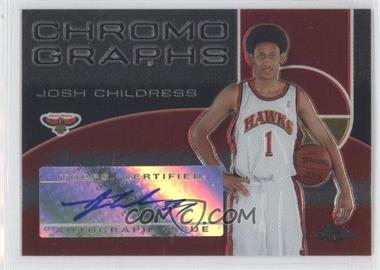 2004-05 Topps Chrome - Chromographs - [Autographed] #CH-JC - Josh Childress