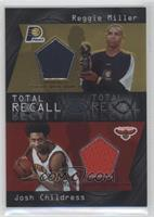 Reggie Miller, Josh Childress /100