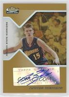 Rookie Autograph - Andris Biedrins #/12