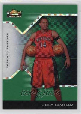 2004-05 Topps Finest - [Base] - Green X-Fractor #206 - Joey Graham /30