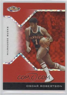 2004-05 Topps Finest - [Base] - Red X-Fractor #134 - Oscar Robertson /99