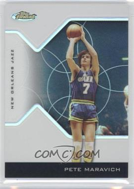 2004-05 Topps Finest - [Base] - Refractor #137 - Pete Maravich /249
