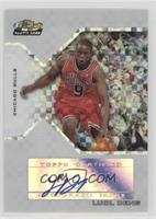 Rookie Autograph - Luol Deng #/129