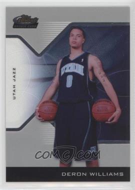 2004-05 Topps Finest - [Base] #193 - 2005-06 Rookie - Deron Williams /599