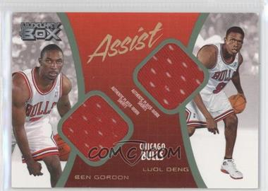 2004-05 Topps Luxury Box - Assist Relics - Loge Level #AS-GD - Ben Gordon, Luol Deng /75
