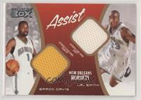Baron Davis, J.R. Smith #/200