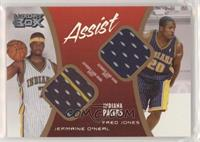 Fred Jones, Jermaine O'Neal [Good to VG‑EX] #/200