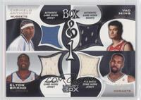 Carmelo Anthony, Elton Brand, Yao Ming, Baron Davis /200