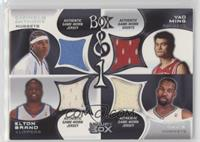 Carmelo Anthony, Elton Brand, Yao Ming, Baron Davis /450