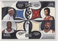 Carmelo Anthony, Elton Brand, Yao Ming, Baron Davis #/450