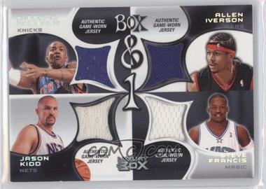 2004-05 Topps Luxury Box - Box & 1 #BOX-MIFK - Stephon Marbury, Allen Iverson, Steve Francis /450