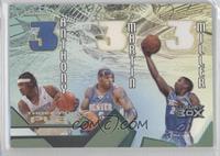 Carmelo Anthony, Kenyon Martin, Andre Miller /75
