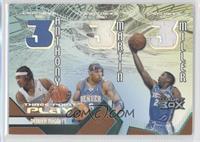 Carmelo Anthony, Kenyon Martin, Andre Miller /200