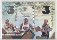 Jason Kidd, Alonzo Mourning, Richard Jefferson #/200