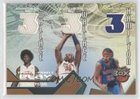 Ben Wallace, Rasheed Wallace, Richard Hamilton /200